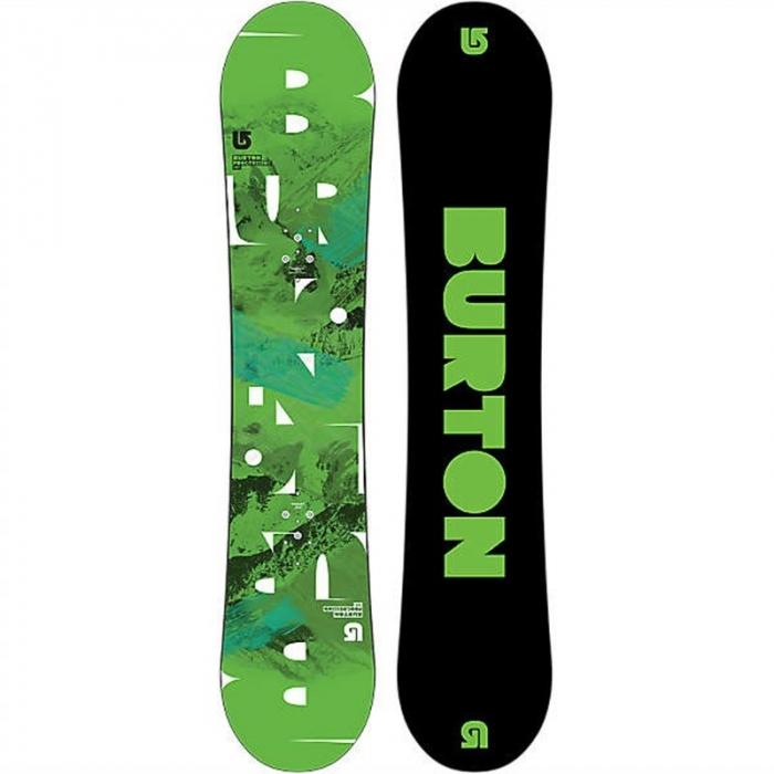 Snowboard silver